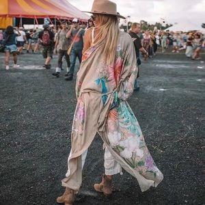 RESTOCKED!! Bird Of Paradise Bohemian Gypsy Kimono